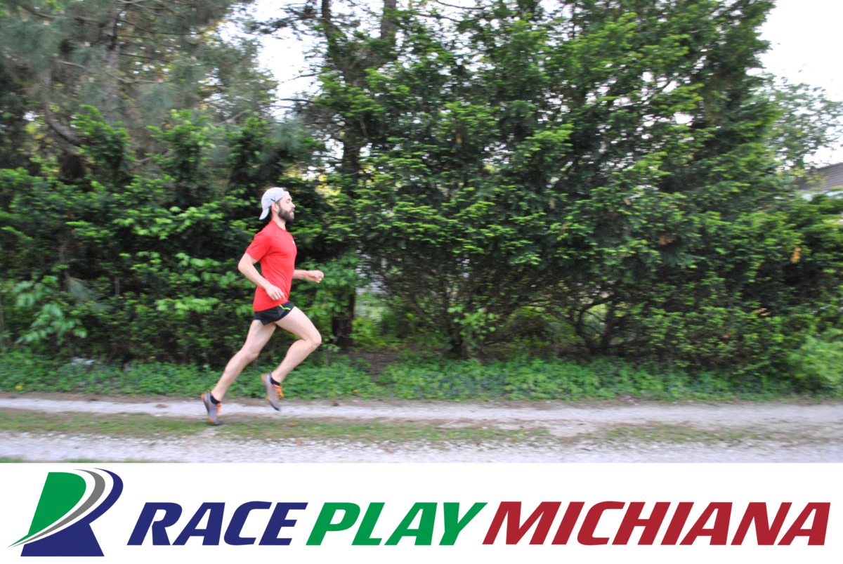 George Cressy, III, on a run with RacePlayMichiana