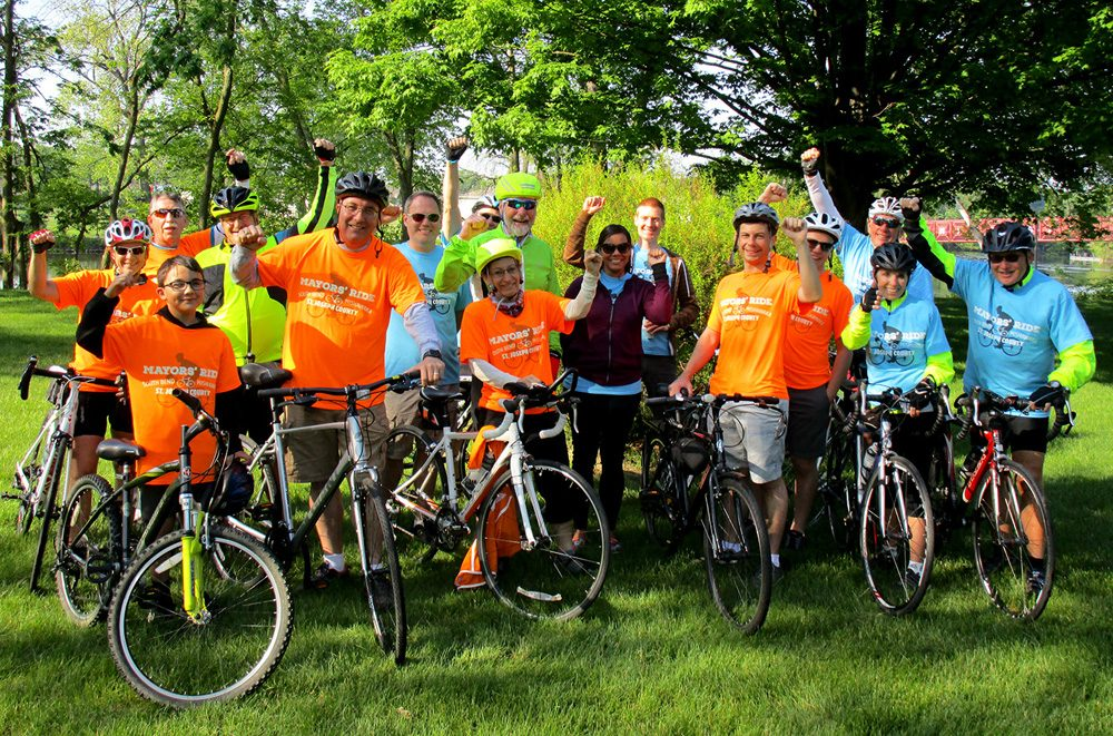 Mayors' Ride 2016 Group Photo