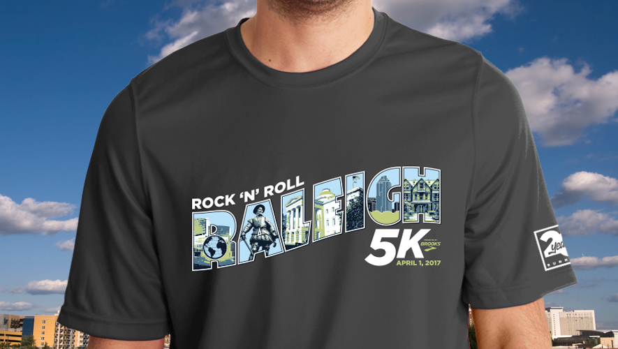 Celebrating A City Or Area On Your Race Shirt Increases Its Potential As Future Conversation Piece