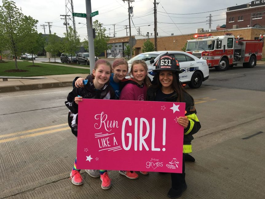 Girls on the Run Michiana Race 2019.